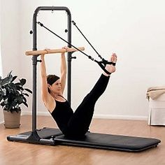 Optional Pilates Tower Accessory for use with the Studio Barre
