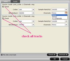 Aunsoft TransMXF Pro for Mac is the only solution to convert muti-stream MXF to MOV with two seperate mono audio tracks exported.