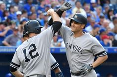With a win on Saturday, the New York Yankees are back in the playoffs, at the very least clinching a Wild Card spot in the American League.