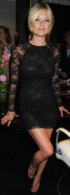 Get Kate Moss's Lace Dress for Less!
