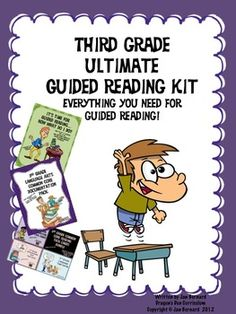 Are you tired of looking all over the place for everything you need for guided reading? Is meeting the common core requirements keeping you up nights? If so, then this resource is your answer! Over 600 pages help you set up, run, document and lead your students to reading mastery! Everything you need is right here! Save 25% by purchasing the kit. $