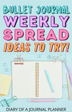 Be inspire for your next bullet journal weekly spread with our ultimate list of 25 gorgeous weekly spreads! #bulletjournalpages #weeklyspread #bujo Bullet Journal Printables, Bullet Journal Layout, Bullet Journal Inspiration, Journal Pages, Journal Ideas, Bujo Weekly Spread, Weekly Planner Template, Spreads, Journaling