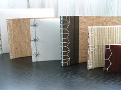 book binding by fadetofuture http://www.flickr.com/photos/fadetofuture/sets/72157622850754048/with/4123711822/ http://www.fadetofuture.com/ #bindings #handmade_books #crafts