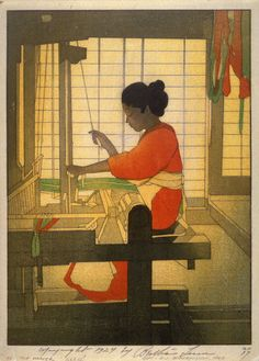 The Weaver by Bertha Lum 1924