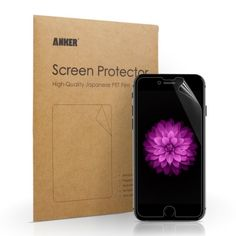 "Anker [3-Pack] Ultra Clear High Response HD Screen Protector for iPhone 6 Plus (5.5 inch) ""XTREME Scratch Defender"" [Lifetime Warranty] #anker #accessories See detail at http://zingxoom.com/d/cwHHJ77v"