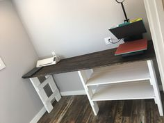 Craft table made with rough cut lumber.  Silhouette and heat press fit perfectly                                                                                                                                                                                 More