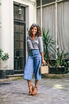 42 Most Beautiful Fall Street Style Outfits to Inspire You - Artbrid - Casual Work Outfit Summer, Summer Outfits Women, Work Casual, Summer Weekend Outfit, Casual Office, Office Chic, Office Attire, Work Attire, Summer Office Outfits