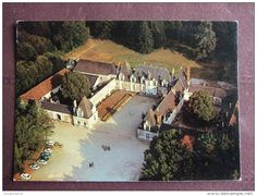 France - BRACIEUX / CHATEAU DE VILLESAVIN / BELLE CARTE PHOTO / VUE AERIENNE / ARTAUD
