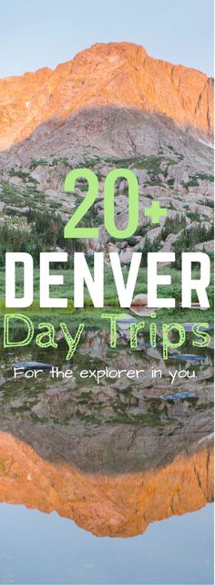 The city is an amazing place to vacation but getting away from the hustle and bustle for the day is essential! Here is a list of great Denver Day trips to see all that Colorado has to offer!