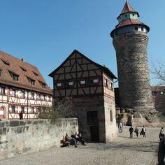Kaiserburg, Nuernberg, Bayern, Germany