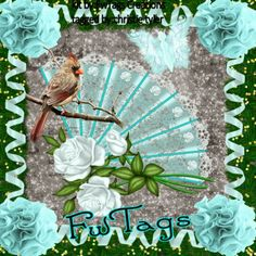 "a beautiful tag made by Moonlight Darlings using my PTU scrap kit ""Frosty Winter Magic"""