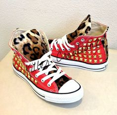 Hey, I found this really awesome Etsy listing at http://www.etsy.com/listing/156568438/custom-studded-converse-chuck-taylors
