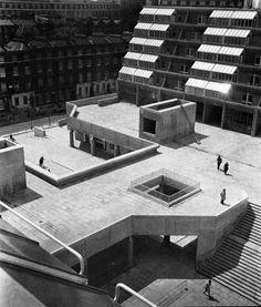 Brunswick Centre, Bloomsbury, London, England, 1967-72    http://fuckyeahbrutalism.tumblr.com/post/156544394143/brunswick-centre-bloomsbury-london-england