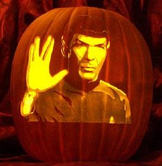 Spock Pumpkin Carving by Alex Wer
