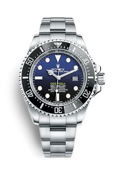 Découvrez la montre Rolex Deepsea à cadran D‑blue en Acier 904L, fond en titane grade 5 sur le Site Officiel Rolex. Modèle : 116660