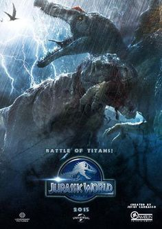 jurassic world poster. It's really cool I like this poster. Jurassic World Poster, Jurassic Park Film, Jurassic Movies, Jurassic World 2015, Jurassic World Fallen Kingdom, Michael Crichton, Science Fiction, Jurrassic Park, Thriller
