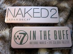 Olivia Mitchell: W7 'In The Buff' vs. Urban Decay 'Naked 2'. Beauty dupes