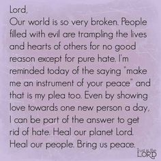 World prayer