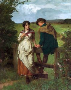 Holyoake, William (b,1834)- Girl Left Behind -2b