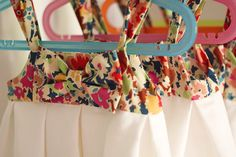 Devant robe fleurie