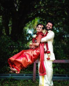 Hindu Wedding Photos, Indian Wedding Poses, Wedding Couple Pictures, Indian Wedding Outfits, Wedding Couples, Romantic Couples, Indian Photoshoot, Couple Photoshoot Poses, Wedding Photoshoot