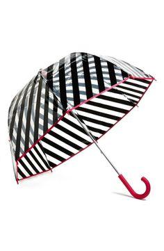 For a brighter rainy day. kate spade new york stripe umbrella
