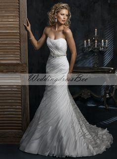 OMG!! I have to have this dress!!! Strapless Empire waist Trumpet / Mermaid Chiffon wedding dress