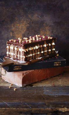 Mokkapalakakku | Maku Can I Eat, Home Bakery, Sweet Bakery, Cake Bars, Piece Of Cakes, Healthy Treats, Vegan Desserts, Special Occasion, Food And Drink