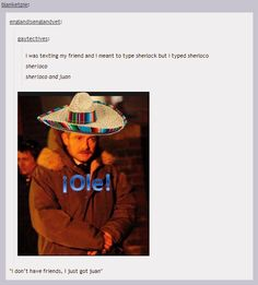Discovered by ♡Asia Nicole♡. Find images and videos about sherlock and john watson on We Heart It - the app to get lost in what you love. Johnlock, The Mentalist, Tumblr Posts, Sherlock Fandom, Sherlock Quotes, Sherlock John, Sherlock Tumblr, Watson Sherlock, Jim Moriarty