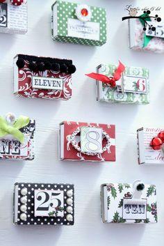 ≡ Christmas Advent Calendar MB Ideas