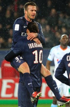 Ibra + Beck.  Wait and see!