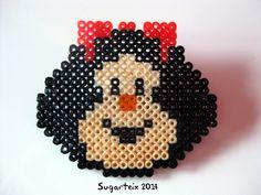 Cara de mafalda broche.  Si te gusta puedes adquirirlo en nuestra tienda on-line: http://www.sugarshop.eu