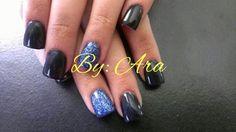 Black & Blue acrylic