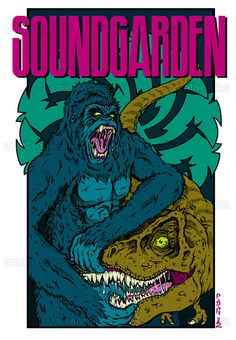 #Soundgarden Poster by PASH on CreativeAllies.com