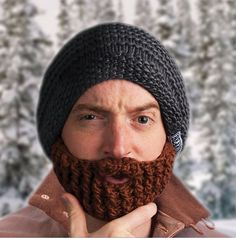If somebody got me this for an early Christmas present I'd wear it so much. If I'm with my dad I'd make him take a selfie with me, like father like.....his bearded daughter!