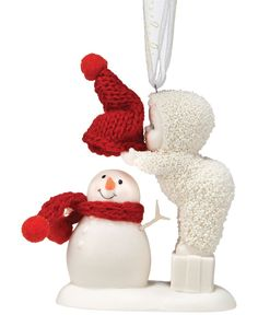 Department 56 Snowbabies Top it Off Ornament