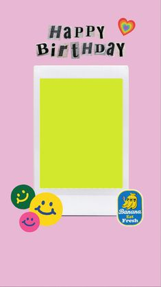 Instax Frame, Instagram Frame Template, Happy Birthday Wishes Quotes, Photo Collage Template, Love Background Images, Instagram Story Ideas, Editing Pictures, Sticker Design, Polaroid