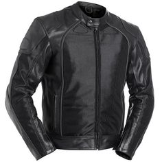 Special Offers - BILT Air Demon Leather/Mesh Hybrid Motorcycle Jacket  46 Black - In stock & Free Shipping. You can save more money! Check It (August 30 2016 at 02:00AM) >> http://motorcyclejacketusa.net/bilt-air-demon-leathermesh-hybrid-motorcycle-jacket-46-black/