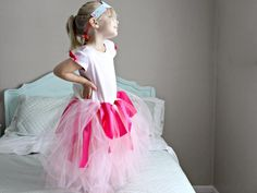 Simple-Sew Princess Dress for Halloween >> http://www.diynetwork.com/decorating/kids-halloween-costume-simple-sew-princess-dress/pictures/index.html?soc=pinterest