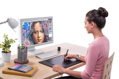 How to set up a Wacom tablet for Photoshop 15 ways to make your Wacom tablet work better and more easily with Photoshop's tools By Tigz Rice Photoshop Design, Photoshop Tutorial, Adobe Photoshop, Photoshop Course, Effects Photoshop, Advanced Photoshop, Photoshop Elements, Photoshop Actions, Art Tablet