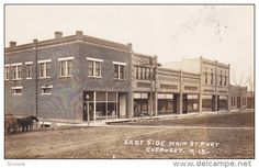 RP; East Side Main Street, Guernsey, Iowa, 1910s