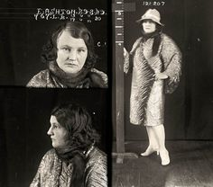 Drug dealers, backstreet abortionists and a deadly femme fatale: Fascinating mugshots of women prisoners from 1920s Australia www.dailymail.co....