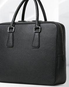 Handmade leather men Briefcase bag messenger large vintage shoulder laptop bag vintage bag