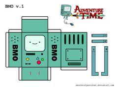 Bonecos 3D Hora de Aventura 2