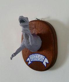 Customizable Dino Plaque by KingdomoftheGeek on Etsy