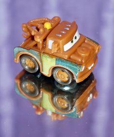 2014 DISNEY PIXAR CAR MICRO DRIFTERS MATER NEW LOOSE MINT #Mattel