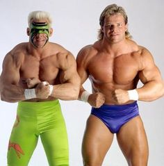 "Sting and ""Total Package"" Lex Luger"