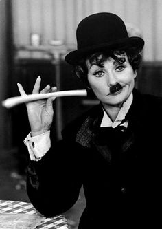 Lucy as Chaplin      cosmosonic:    LUCILLE by RALPH CRANE