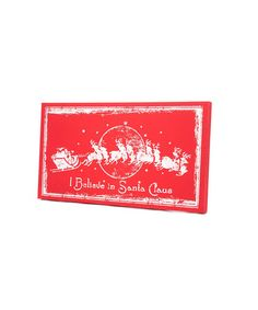Loving this 'Believe in Santa' Wall Sign on #zulily! #zulilyfinds