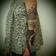 i want that ship! (Guy Le Tattooer)